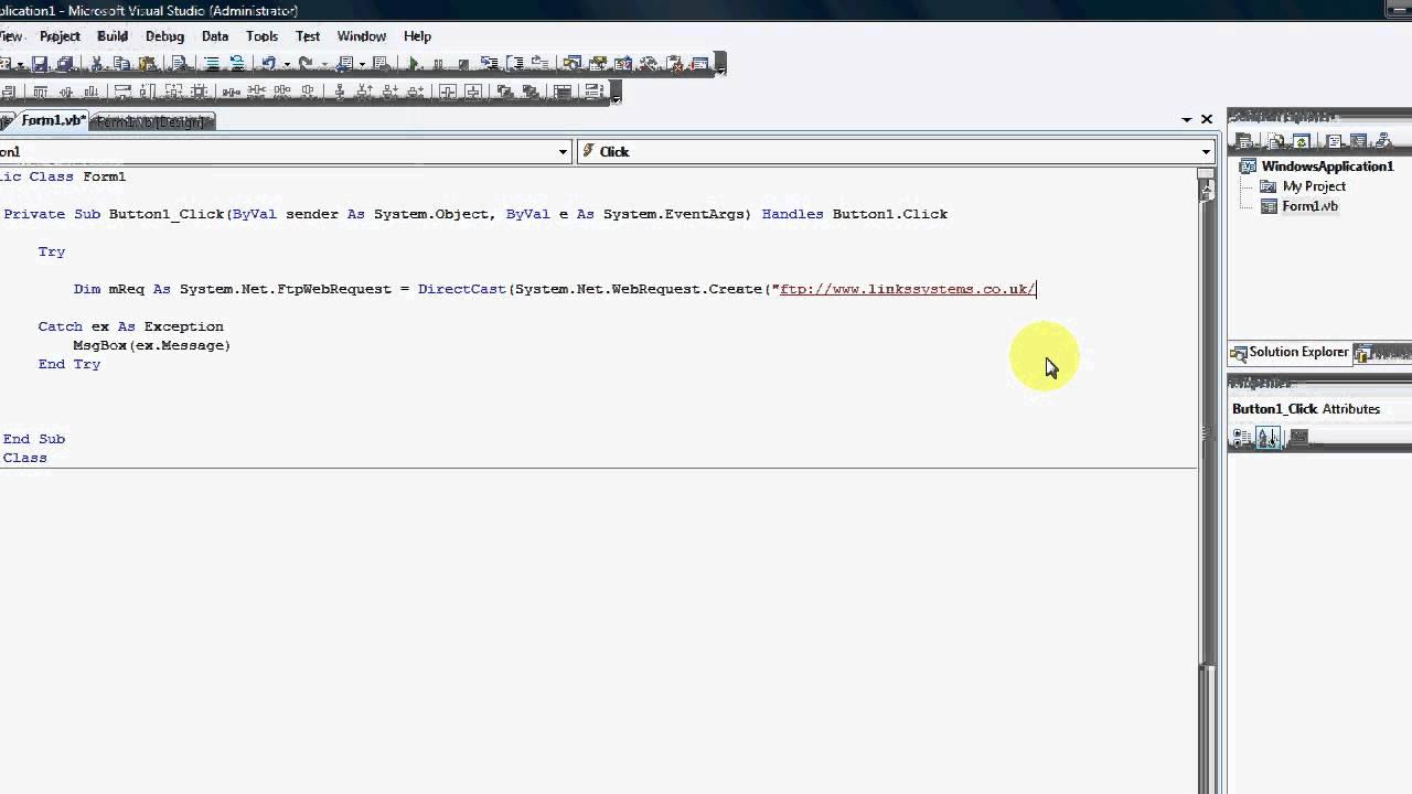 Ftp client in vb. Net: ftp client « socket network « vb. Net tutorial.