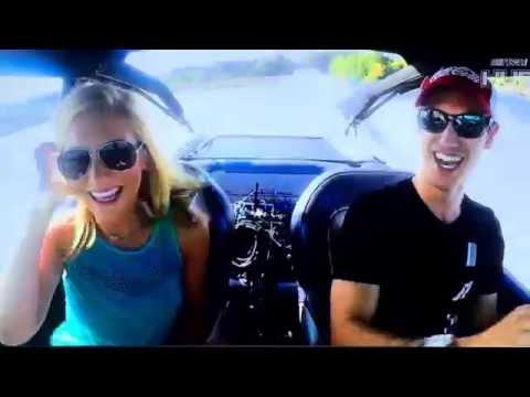 NASCAR star Joey Logano Drives WaterCar on FS1 RaceHub