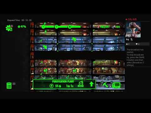 Fallout Shelter Awesome Vault Layout !!!!