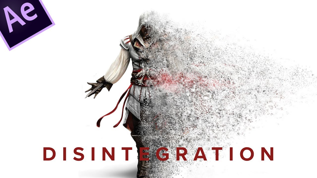 After Effects Tutorial: Disintegration effect: 2 minute ...