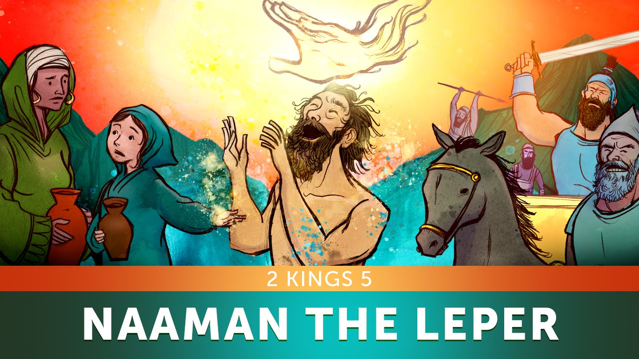 Sunday School Lesson for Kids - Naaman the Leper - 2 Kings 5 - Bible Teaching Stories for VBS