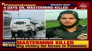Four Days After Pulwama Convoy Attack, Mastermind Killed In Encounter