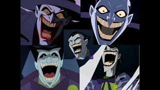 DC Animated Universe: ULTIMATE Joker Laugh Compilation (MARK HAMILL)
