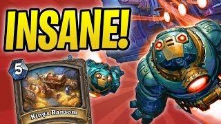 INSANE RANSOM Game vs Togwaggle Druid | Boom Mecha'thun Warrior | The Boomsday Project | Hearthstone