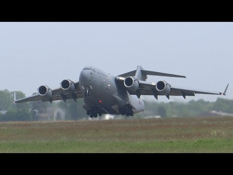 Super awesome RAF C-17 visit at Hannover [HAJ/EDDV]