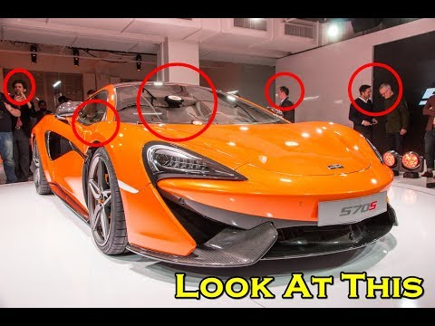 AMAZING !!! McLaren 570S Spider and 720S Steal the Show at AUTO ZURICH
