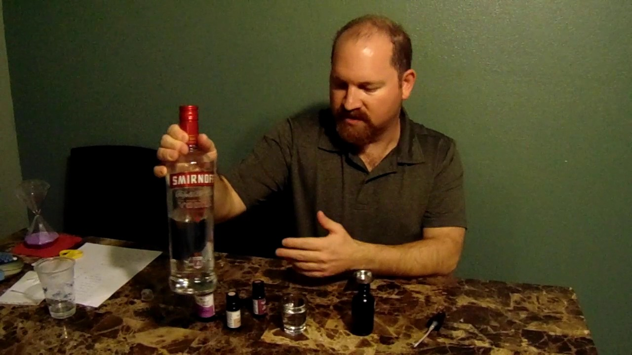 Essential Oils and Vodka