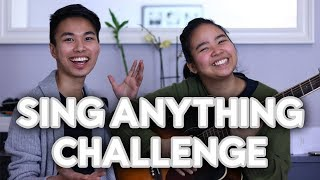 SING ANYTHING CHALLENGE!! ft. Famous Songs | Mr VienPaulo
