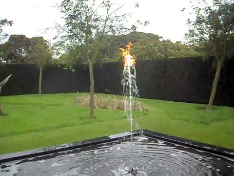 Fire And Water Fountain Youtube