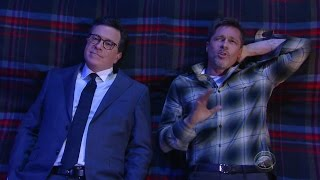 Brad Pitt and Stephen Colbert Get Philosophical In Hilarious Late-Night Sketch