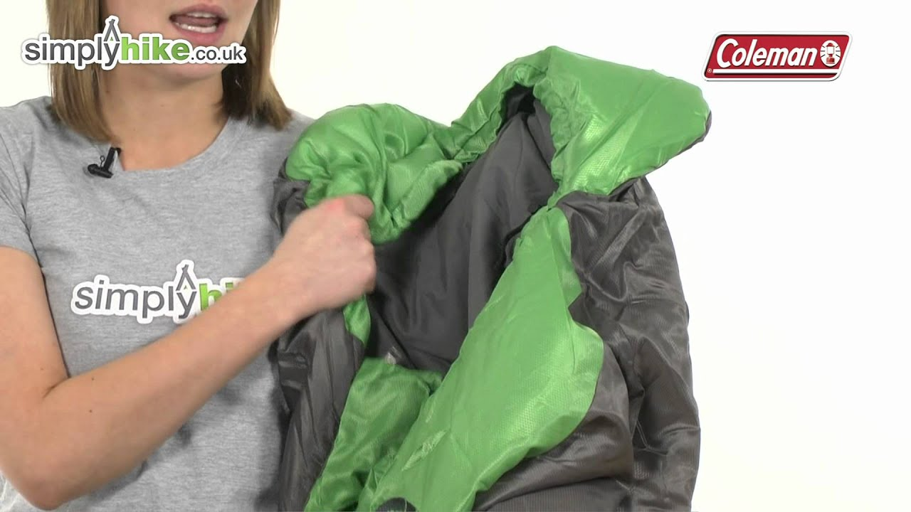 Coleman Biker Sleeping Bag Wwwsimplyhikecouk Youtube