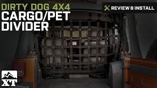 Jeep Wrangler Dirty Dog 4x4 Cargo/Pet Divider (2007-2016 JK) Review & Install