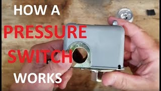 How a pressure switch works