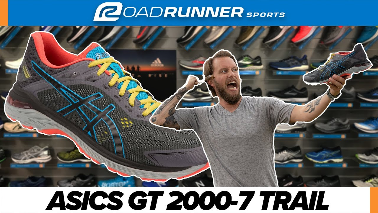 cúbico distorsión Reacondicionamiento  ASICS GT 2000-7 TRAIL Shoe Review | First Look - YouTube
