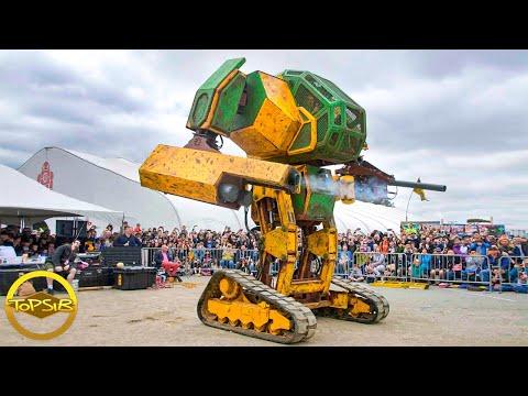 10 หุ่นยนต์ยักษ์ใหญ่สุดเท่ที่คุณต้องร้องว้าว (ใหญ่มากขอบอก)
