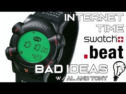 Swatch .Beat - The Failure of Internet Time - Bad Ideas #64