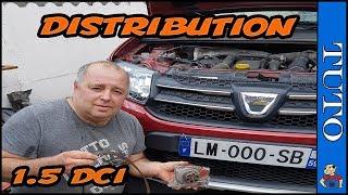 Remplacer Distribution 1.5 dci Dacia ,clio,Dacia Dokker, mégane 90 cv
