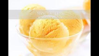 Mango Gelato (No Churn Ice Cream) | Vegan, Paleo