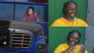 Dad Reacts to Thanking The Bus Driver! (SO FUNNY!) - Lenarr Young