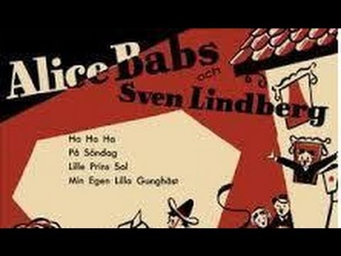 På Söndag, på söndag ( On Sundays,on Sundays )   -  Sven Lindberg, Alice Babs