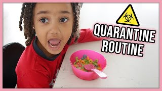 Our Daily Routine in Quarantine | Single Mom of 3 Year Old