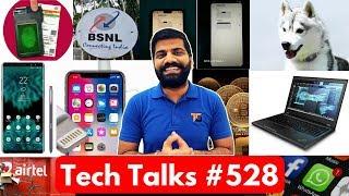 Tech Talks #528 - BSNL Kills Jio, Xiaomi PetBit, 128GB RAM Laptop, Bitcoin Price Drop, Aadhaar Face