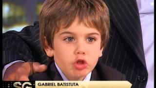 Batistuta y su familia parte 1 - Susana Gimenez 2008