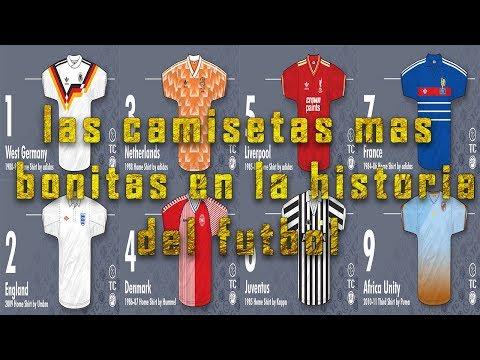 Las 10 camisetas más bonitas en la historia del fútbol