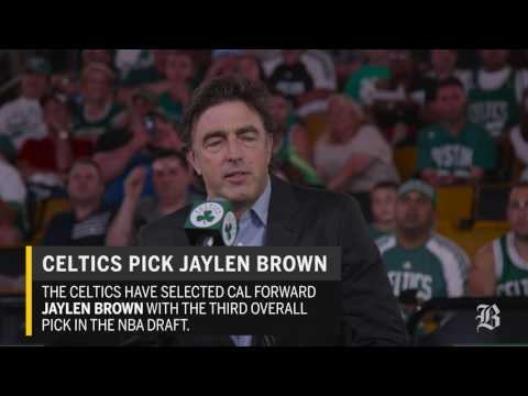 Grousbeck discusses decision to pick Jaylen Brown
