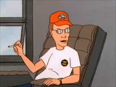 Dale Gribble Swinging the Alphabet