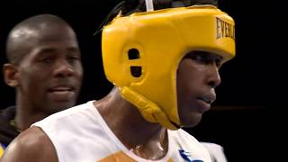NEW YORK  DAILY NEWS GOLDEN GLOVES FINALS (Official) 2017 178lbs Novice Hopkins VS Lara