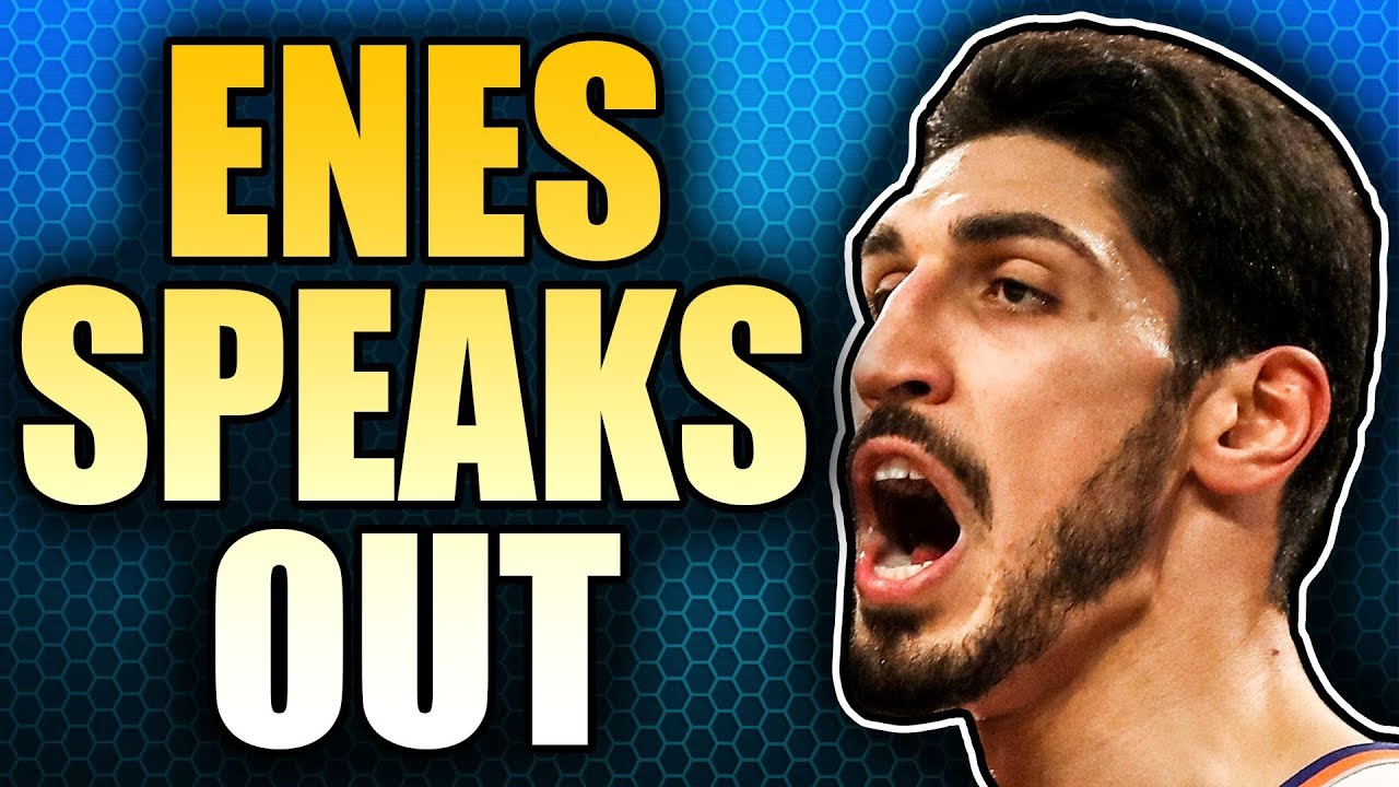 ba0826ef09ab1 Enes Kanter Breaks His Silence - YouTube