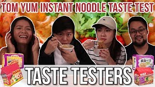 connectYoutube - BEST TOM YUM INSTANT NOODLES   Taste Testers   EP 51
