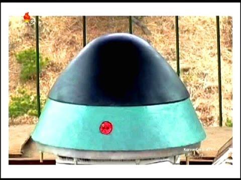 KCTV - North Korea Ballistic Missile Reentry Heat Resistance Material Testing [480p]