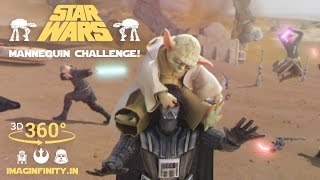 VR Mannequin Challenge - Epic Star Wars Battle on Tatooine! - 3D 360 Video thumbnail