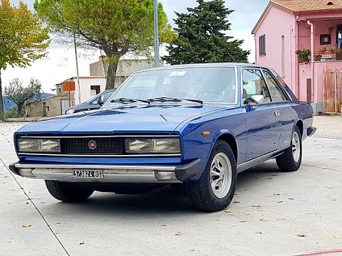 fiat 130 coup 3200 by pininfarina model year 1974 youtube. Black Bedroom Furniture Sets. Home Design Ideas