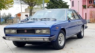 Fiat 130 coupé 3200 by Pininfarina, model year 1974