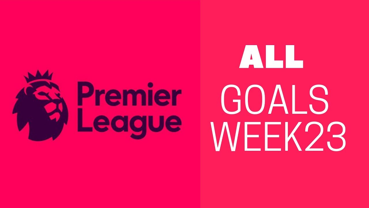 Download Premier League Matchday 23 Day All Goals - HD 2019
