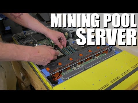 Crypto Mining Pool Server Setup Vlog #1