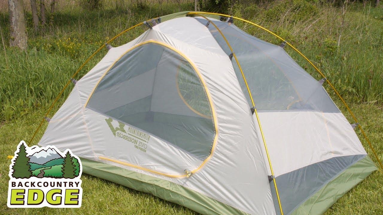 Mountainsmith Morrison Evo 2 Backpacking Tent & Mountainsmith Morrison Evo 2 Backpacking Tent - YouTube