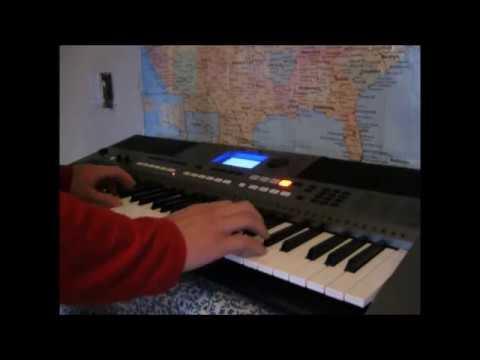 Yamaha PSR E443 - Synth Lead Demo