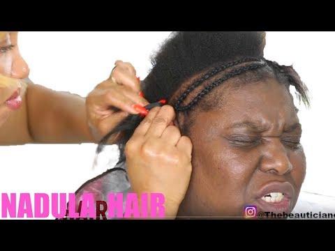 💄MELANIN BRIDAL MAKEUP AND HAIR TRANSFORMATION| WEDDING MAKEUP| NADULA HAIR #TRANSFORMATION