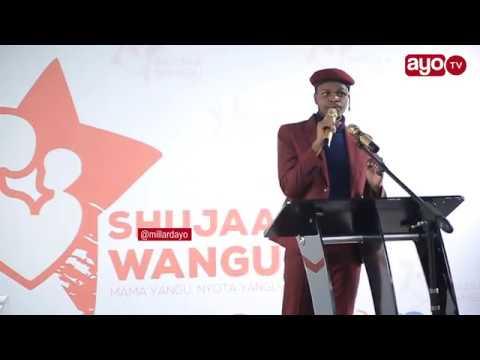 Mr Beneficial alivyowachekesha watu kwenye utoaji wa tuzo za 'shujaa wangu'