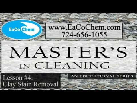 4 master s in cleaning clay stain removal youtube