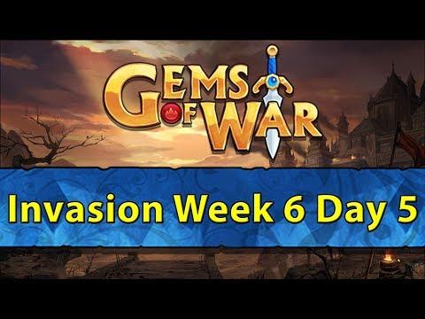 ⚔️ Gems of War Invasions | Week 6 Day 5 | +1 Additional Perk! ⚔️