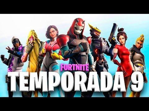 JUGANDO LA TEMPORADA 9 DE FORTNITE - TheGrefg
