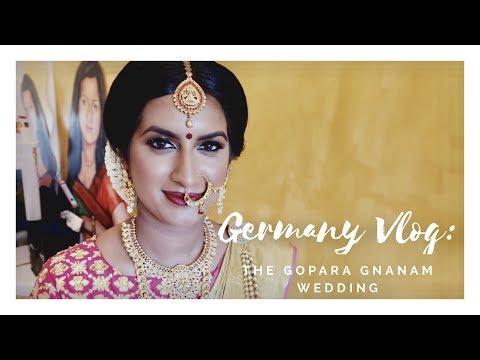 Germany Vlog | The Gopara Gnanam Wedding | Jumani MUA