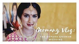 Germany Vlog   The Gopara Gnanam Wedding   Jumani MUA