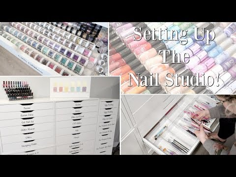 Setting Up My NEW Nail Studio! | Nail Vlog