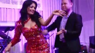 គុណឪពុកម្តាយ - Lor Bopha and Makara peforms Kantrim song in San Diego, California